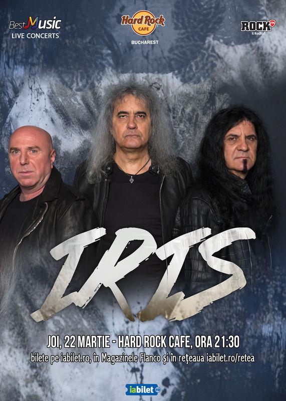 IRIS la Hard Rock Cafe