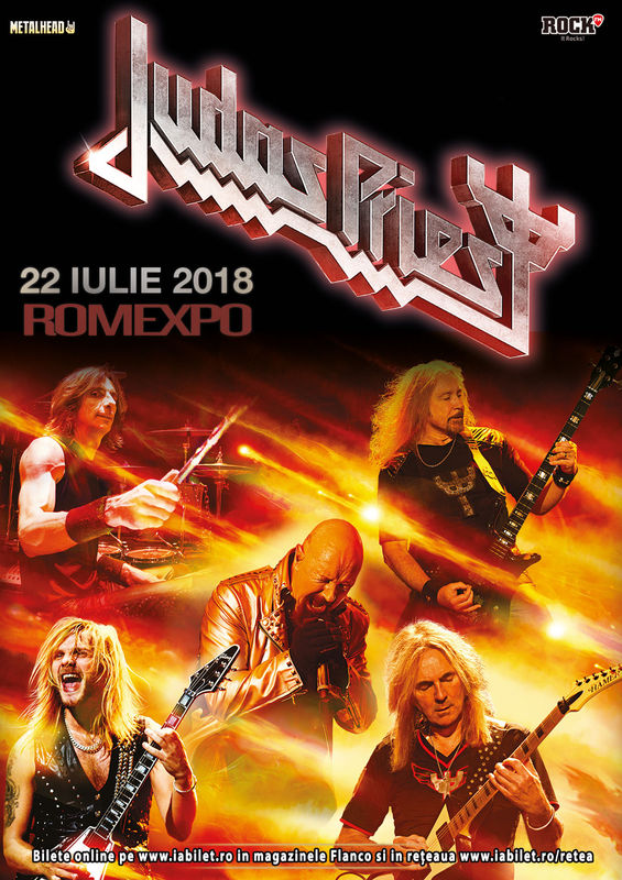 Concert Judas Priest - Firepower la București pe 22 iulie ...