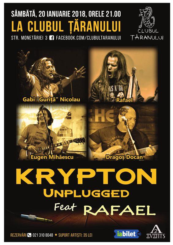 Krypton Unplugged la Clubul Țăranului Român