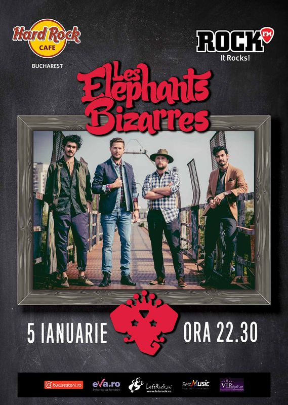 Les Elephants Bizarres la Hard Rock Cafe