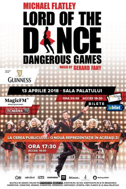 Lord of the Dance la Sala Palatului