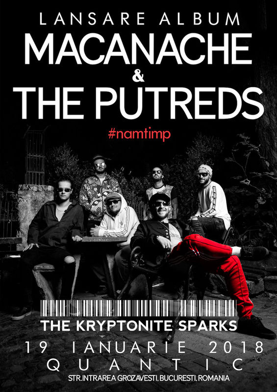 Macanache & The Putreds - lansare de album la Quantic Club