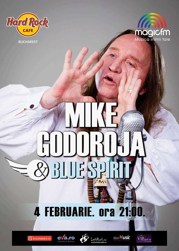 Mike Godoroja & Blue Spirit la Hard Rock Cafe