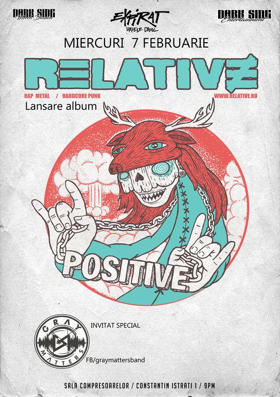 Relative - lansare album la Expirat Club