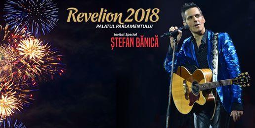 Revelion 2018 la Palatul Parlamentului: Glamour Party cu Ștefan Bănică la Palatul Parlamentului