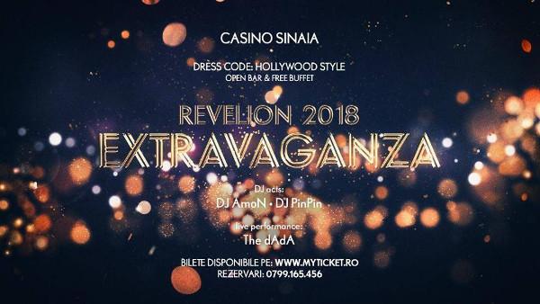 Revelion Extravaganza 2018 la Casino Sinaia