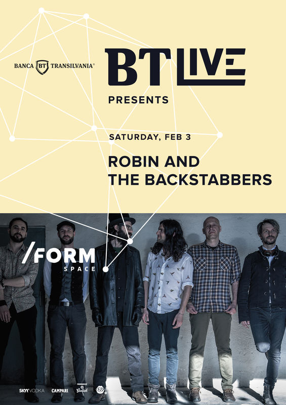 Robin and the Backstabbers la Form Space Club