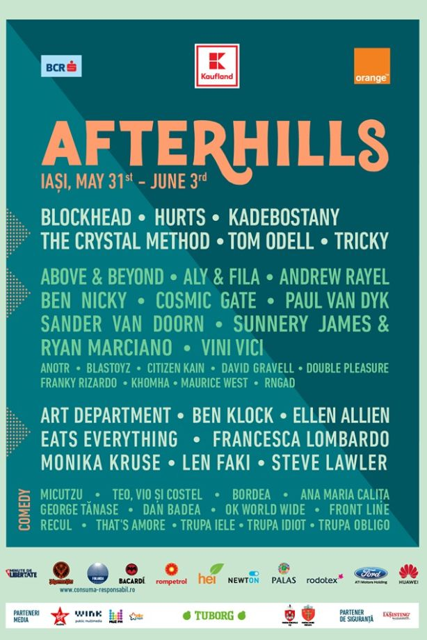 Afterhills Music & After Festival 2018 la Șes Bahlui (Iași)