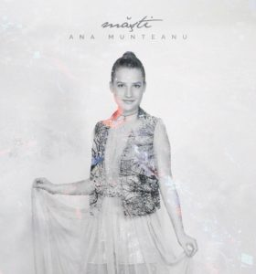 "Artwork single ""Măști"" - Ana Munteanu"