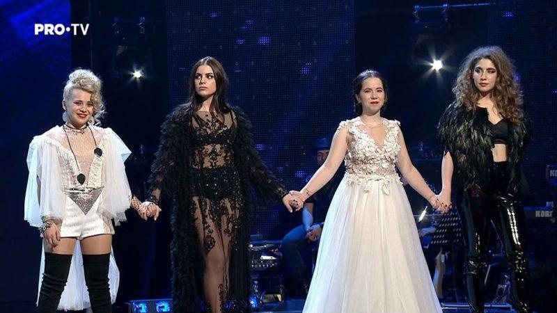 Echipa Loredana în cea de-a treia ediție live de la Vocea României 2017