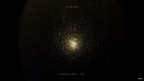 Single Kendrick Lamar SZA All the Stars