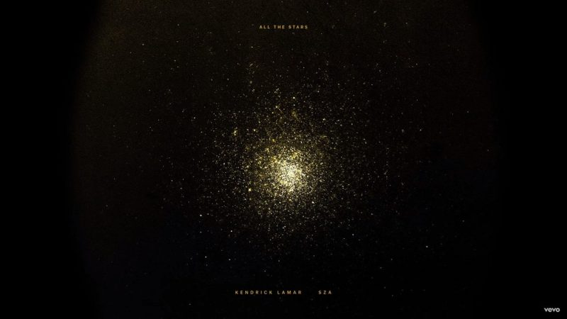 Single Kendrick Lamar SZA All the Stars