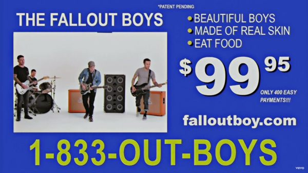 Videoclip Fall Out Boy Wilson Expensive Mistakes