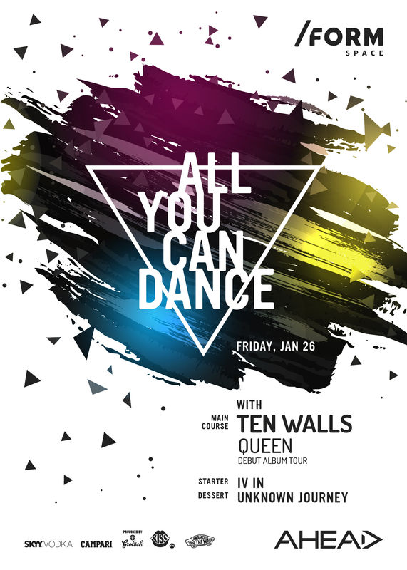 All You Can Dance with Ten Walls la Form Space Club