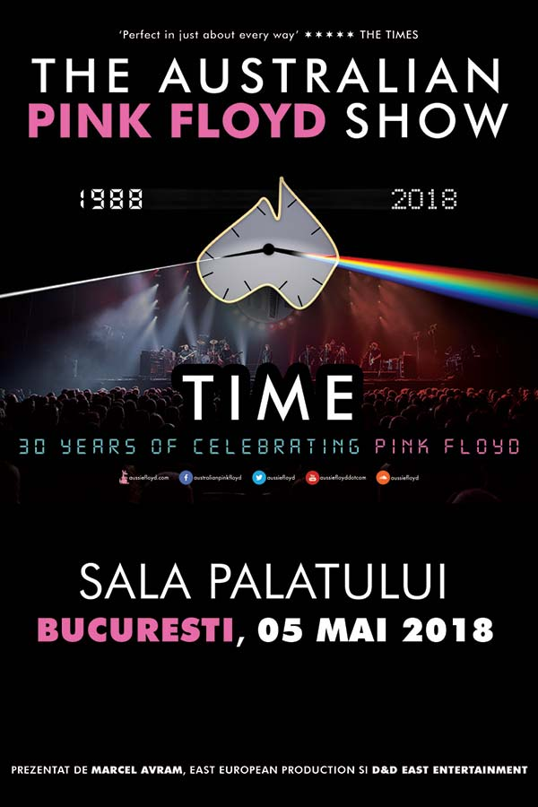 The Australian Pink Floyd Show la Sala Palatului