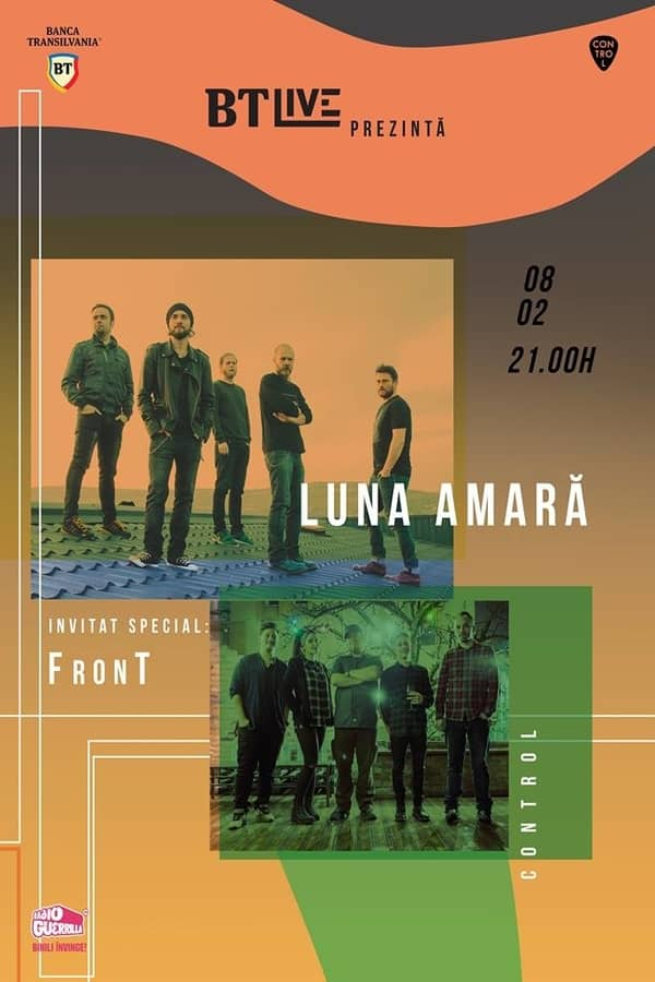 BT Live: Luna Amară | FronT la Club Control