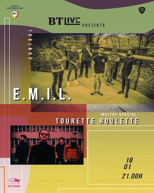 BTLive: E.M.I.L. | Tourette Roulette la Club Control