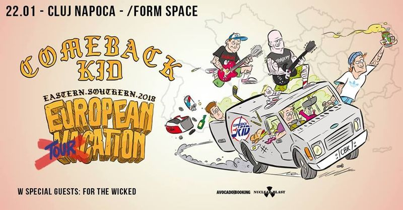 Comeback Kid la Form Space Club