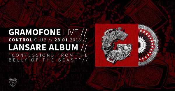 Gramofone - lansare album la Club Control