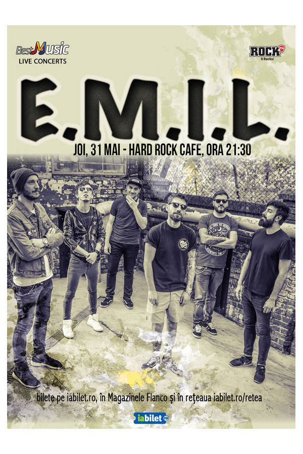 E.M.I.L. la Hard Rock Cafe