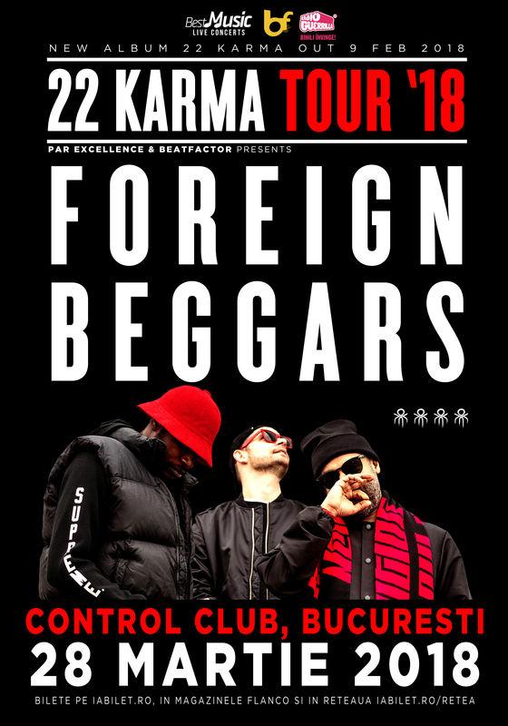 Foreign Beggars la Club Control