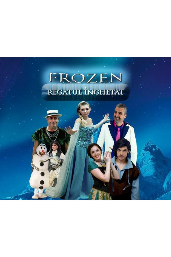 Frozen - Regatul Înghețat la Palatul Național al Copiilor