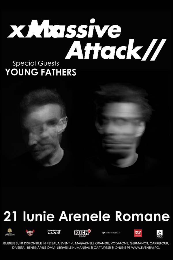 Massive Attack la Arenele Romane