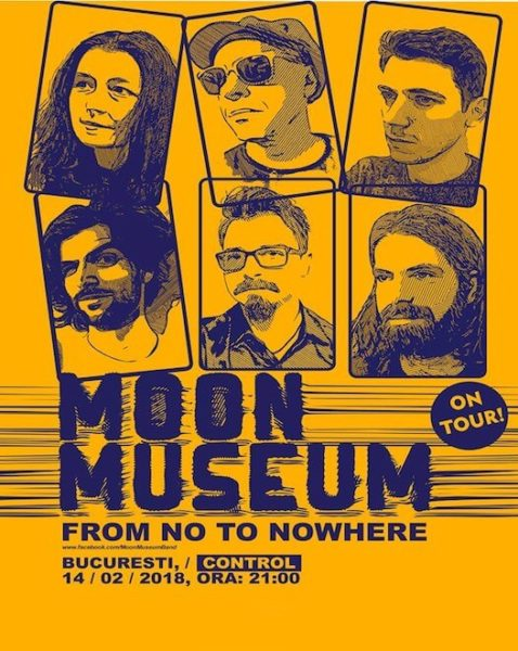 Poster eveniment Moon Museum - lansare album