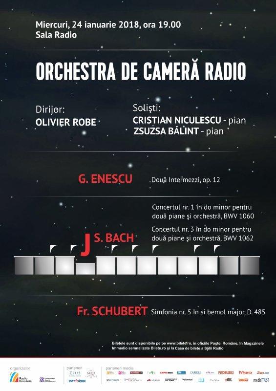 Orchestra de Cameră Radio - Olivier Robe la Sala Radio