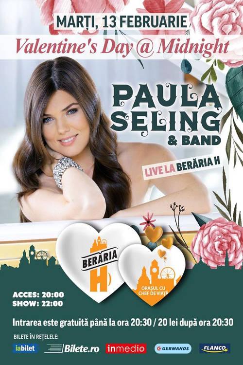 Paula Seling & Band la Berăria H