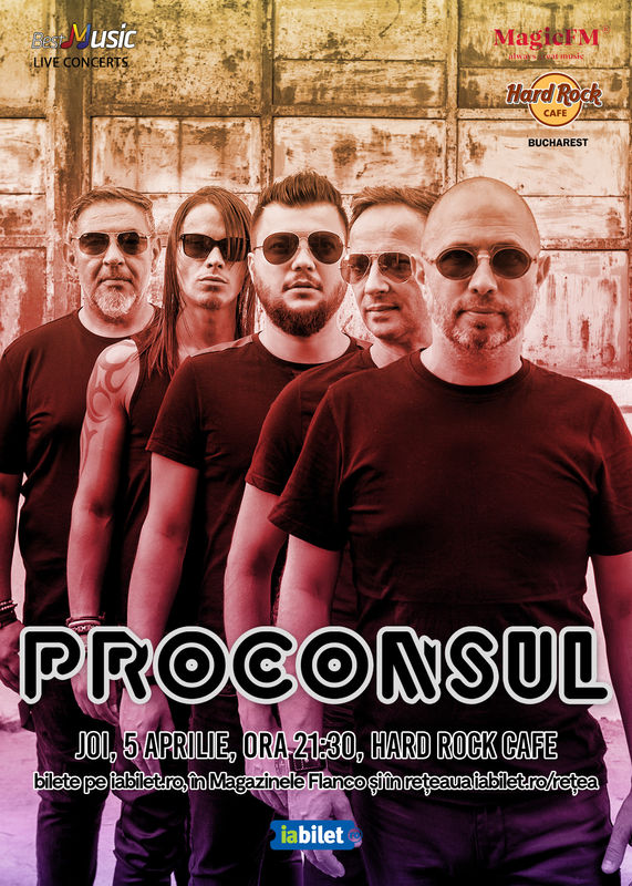 Proconsul la Hard Rock Cafe
