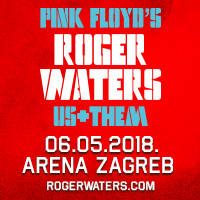 Roger Waters - Us+Them Tour la Arena Zagreb