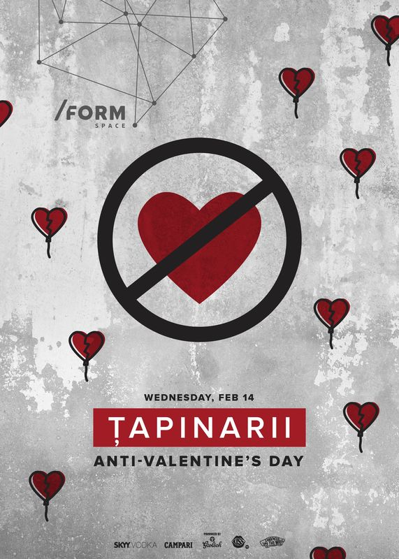 Țapinarii - Anti Valentine's Day la Form Space Club
