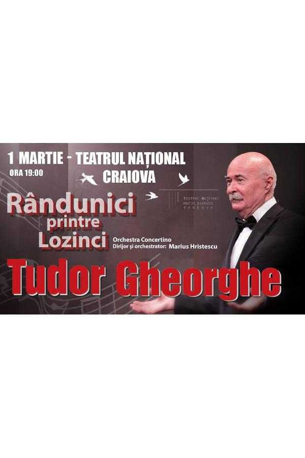 Tudor Gheorghe - Rândunici printre lozinci la Teatrul Național Marin Sorescu
