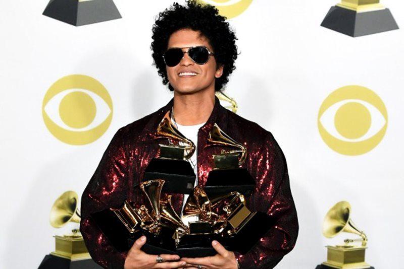 Bruno Mars, marele câștigător al premiilor Grammy 2018