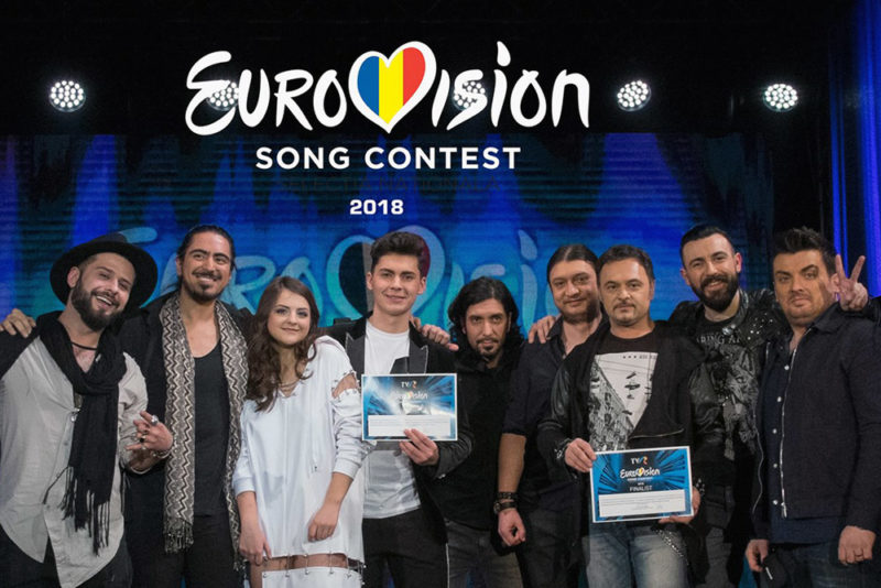 Primii finaliști la Eurovision România 2018, după semifinala de la Focșani
