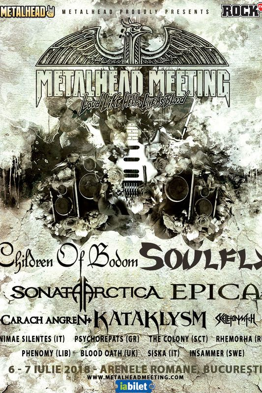 Metalhead Meeting 2018 la Arenele Romane
