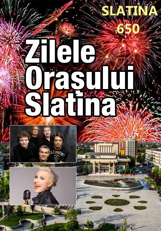 Zilele orașului Slatina 2018 - 650 de ani de atestare documentară la Esplanada Slatina