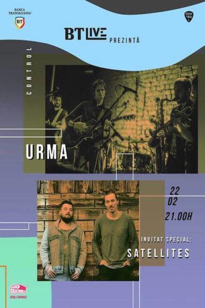 Poster eveniment BT Live: Urma | Satellites