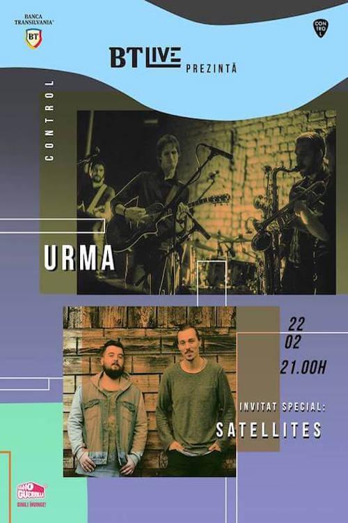 BT Live: Urma | Satellites la Club Control
