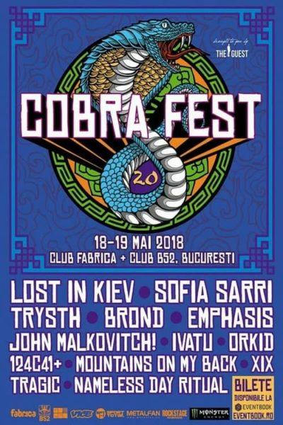 Poster eveniment Cobra Fest 2.0