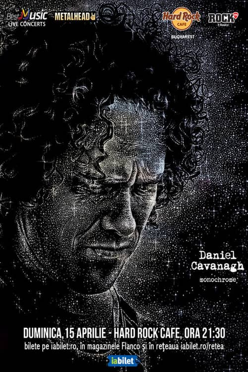 Daniel Cavanagh (Anathema) la Hard Rock Cafe