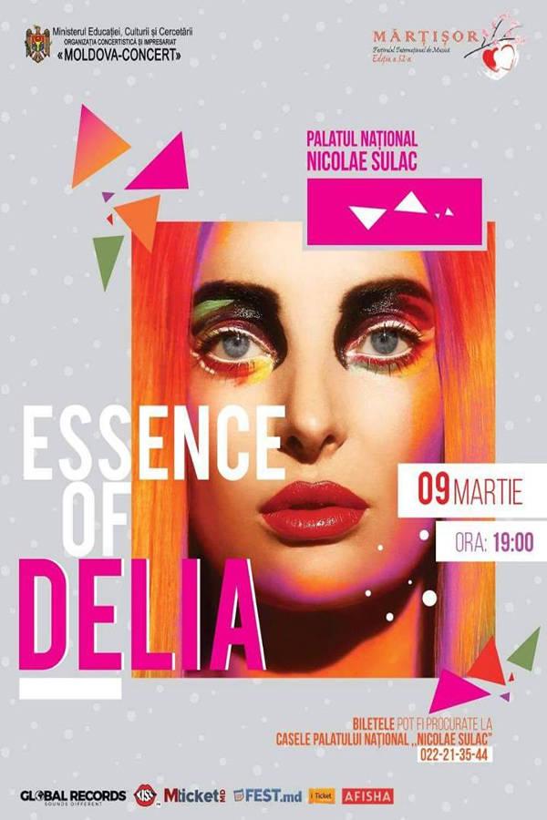 Delia - Essence of Delia la Palatul Național din Chișinău