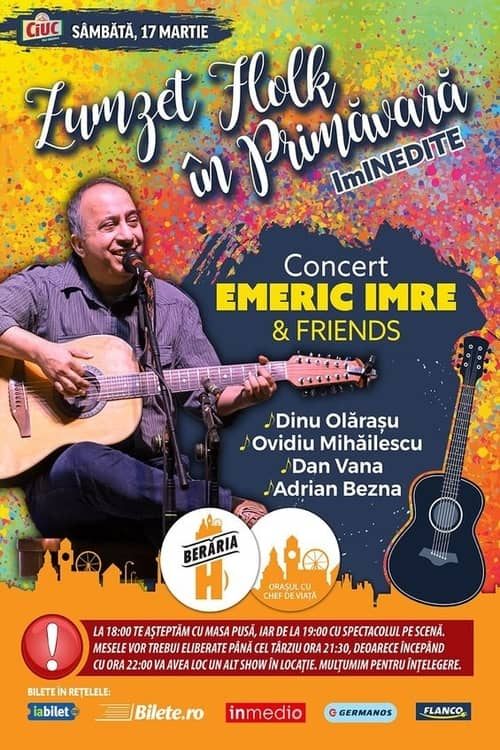 Emeric Imre & Friends la Berăria H