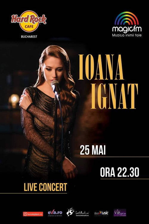 Ioana Ignat la Hard Rock Cafe