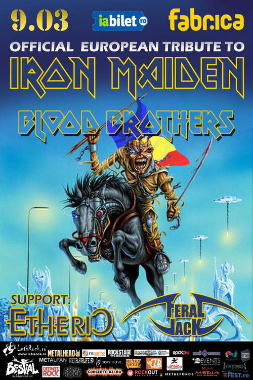 Iron Maiden Tribute la Fabrica
