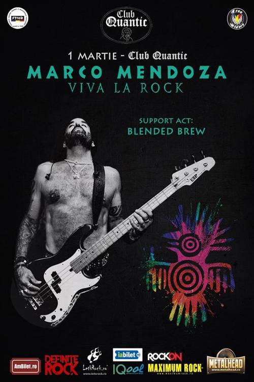 Marco Mendoza la Quantic Club