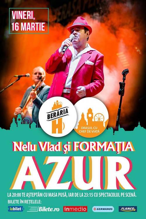 Nelu Vlad & formația Azur la Berăria H