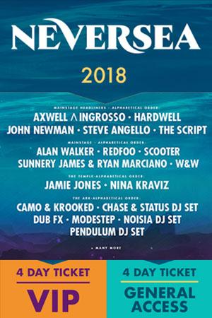 Neversea 2018 la Neversea Beach