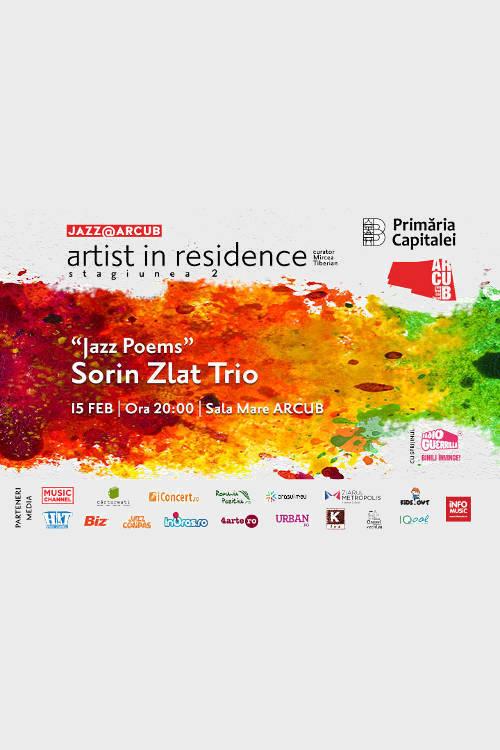 Sorin Zlat Trio la ARCUB